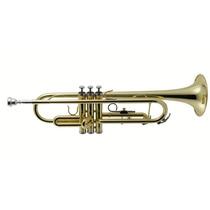 Trompete Sib - Weril Laqueado Com Estojo - Et1172l1