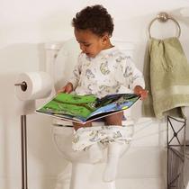2 Assentos C/ Adaptador P/vaso Sanitário Infantil Almofadado