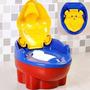 Troninho Infantil E Redutor De Assento Penico 2 Em 1 Urso