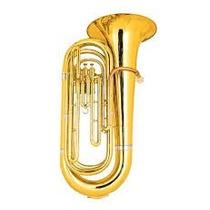 Tuba 3 Pistos Jahnke Laqueado Estojo De Luxo