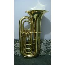 Tuba Weril 4/4 J981 Sinfonica Sib 4 Pistos Nova