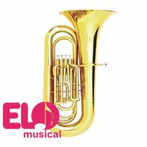 Tuba Hoyden Sinfonica Sib - Htbs-50pl Laqueada 4 Pistos 604