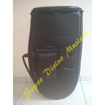 Capa Case Master Luxo Couro Pelucia Tuba Yamaha Ybb 641
