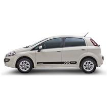 Adesivo Sport Fiat Punto Kit Faixa Lateral Tuning Laura Novo