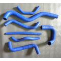 Kit Mangueira Silicone Azul P/ Linha Gol Quadrado