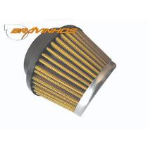 Filtro De Ar Esportivo Cônico Lavável Carburador Fusca Kart