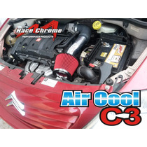 Kit Intake Filtro Air Esportivo 206, 207, 208 Citroen C3, C4