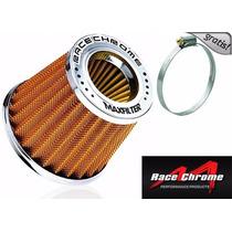 Filtro Ar Esportivo Race Duplo Fluxo P/ Fiat Uno + Brinde !