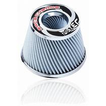 Filtro De Ar Esportivo Duplo Fluxo 15cm Twister Branco