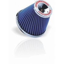 Filtro De Ar Esportivo Mono Fluxo 15cm Twister Azul