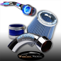 Kit Air Cool + Filtro Grande Peugeot 208 1.5 8v 2013 Diante