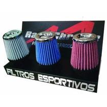 Filtro De Ar Esportivo Moto Cg Xtz Ybr Cb500 Factor Yes Neo