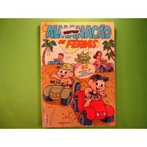 Turma Hq Gibi -revistas - Almanacão De Ferias - Monica -nº40
