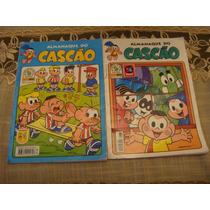 Lote 2 Revistas Turma Da Monica Almanaque Cascão
