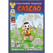 Almanaque Temático Cascao 28 - Panini - Bonellihq Cx 215