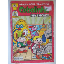 Almanaque Temático Nº 2 Cebolinha Invenções Panini