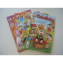 Lote 4 Revistas Cebolinha #32,58,62,64 Ano 2009 A 2012