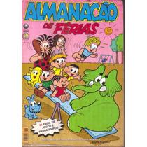 Almanacão De Férias Da Turma Da Mônica 36 Ed. Globo Razoável