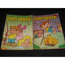 Dois Gibis Do Chico Bento Nº 04 E 11 - Ed. Globo - 1987