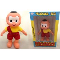 Boneco Cascão Clássicos Turma Da Mônica Original Multibrink