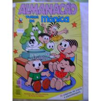 Almanacão Turma Da Mônica No.14 Abril 01 Ed Globo Ótimo!