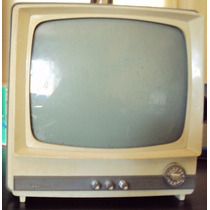 156 Prd- Antiga Televisão- Philco Solid State- Tv E Radio