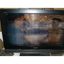Tv Sony Bravia Klv 32ll50a Funciona Mas Tem Listas Na Tela.