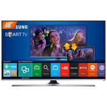 Smarttv Led 48 Samsung Fhd Wi-fi Integrado Un48j5500agxzd