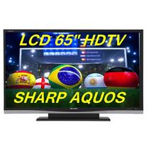 Tv De Lcd Sharp Lc-65d64u 65 Polegadas Full Hd Hdmi