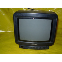 Tv A Cores Sony 9 Trinitron -raríssima - Bi-volt E 12 V- Ok