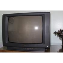 Tv Mitsubishi 20 C/ Controle Remoto - Impecável