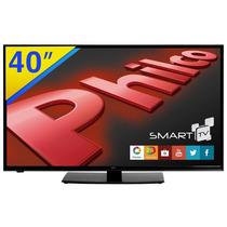 Smart Tv Led 40 Philco Full Hd Com Wifi Integrado H40e36dsgw