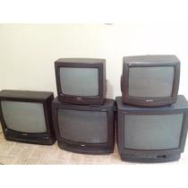 6 Televisores De 14