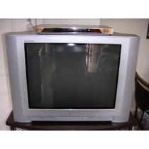 Tv Lg 29 Flatron Tela Plana +dvd Lg Com Cont.remoto E Manual