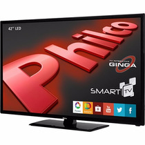 Smart Tv Led 42 Full Hd Philco Ph42m30dsgw 3hdmi 1 Usb Wifi