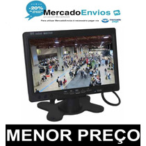 Monitor Lcd 7 Colorido Widescreen - Cftv - Automotivo