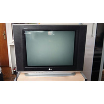 Tv Lg 21 Polegadas Ultra Slim Com 2 Controles Com Jogos.