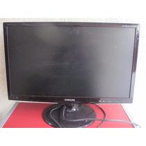 Tv 24 Led Samsung T24b350 Full Hd Funciona Tela Trincada