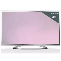 Tv Led 3d 42 Lg Cinema Full Hd 42la6130 (tela Quebrada)