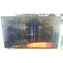 Tv Samsung Un48h6400ag - Tela Quebrada
