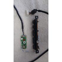 Teclado E Recptor Ir Da Tv Samsung Mod. Ln40a450c1