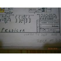 Tv Predicta - Philco - Esquema Elétrico.