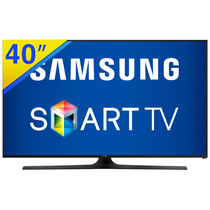 Smart Tv Led 40 Samsung Full Hd Wifi E Conversor - 40j5300