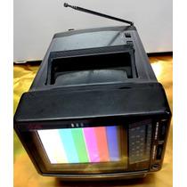 Tv De 5 Polegadas Com Rádio Am-fm Marca Sunkyong, 12 Volts.