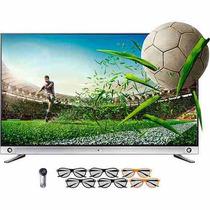 Smart Tv Lg 3d Led 55 4k - 3 Hdmi 3 Usb + 6 Óculos
