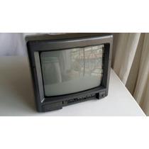 Tv Cce 10 Polegadas - Tvp 105 - Funcionando S/ Controle