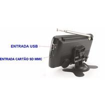 Tela Lcd Tv Analógica Portátil Powerpack Avtv770bk 7 Pol.