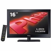 Monitor Tv Philco 16 - Hdmi - Usb Resolução 1366 X 768 + Nf
