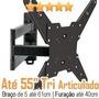 Suporte Articulado Tv Led Sony 3d Smart 4k 32 40 42 47 50 55