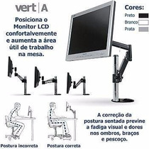 Suporte Monitor Lcd Totalmente Articulado - Air Micro Vert